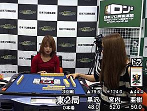 三麻エンペラー女流プロ編 予選C卓 3回戦