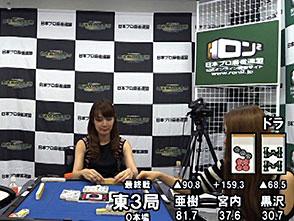 三麻エンペラー女流プロ編 予選C卓 4回戦