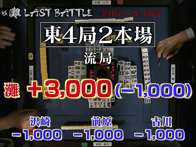 小島VS.灘 LAST BATTLE 第六回戦・後編