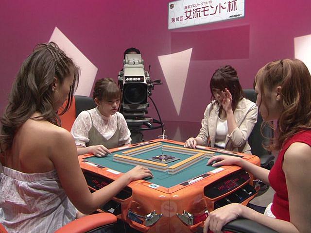 麻雀プロリーグ 第16回女流モンド杯 #4 池沢麻奈美×石井あや×西嶋ゆかり×宮内こずえ