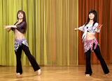 ベリーダンス・エクササイズ Lesson3 基本動作3 〜テンポ・ハイ〜
