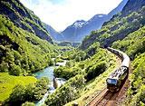 ちょっと贅沢!欧州列車旅行 ノルウェー景勝ルート ベルゲン急行&フロム鉄道