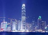 世界の絶景 香港の夜景(中国)