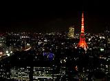 東京高層夜景 世界貿易センタービル