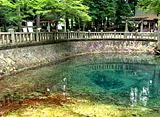 日本の原風景5 秋芳台の地下水が湧き出す青い池 〜秋芳町〜