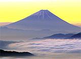 富士山百景 雲と富士山
