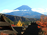 富士山百景 秋の富士山