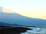 富士山百景 海と富士山