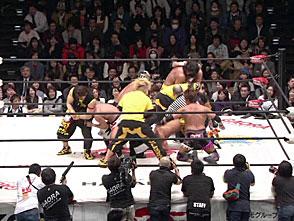 DRAGON GATE 無限大〜infinity〜 1.16後楽園ホール セミファイナル タッグマッチ