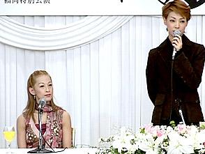 TAKARAZUKA NEWS プレイバック!「雪組福岡特別公演『睡れる月』制作発表会」〜2005年2月より〜