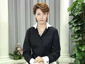 TAKARAZUKA NEWS プレイバック!「タカラジェンヌえとせとら「安蘭けい」」〜2004年7月より〜