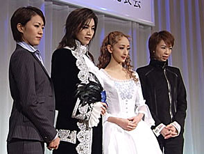 TAKARAZUKA NEWS プレイバック!「宙組公演『ファントム』制作発表会」〜2004年2月より〜