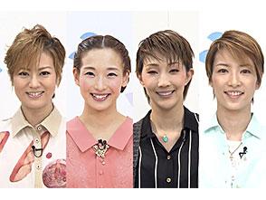 TAKARAZUKA NEWS Pick Up 「Number Q:煌月爽矢、蘭乃はな、紅ゆずる、早霧せいな」〜2014年4月−6月より〜