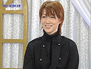 TAKARAZUKA NEWS Pick Up「SKY INTERVIEW 凰稀かなめ」〜2006年12月より〜