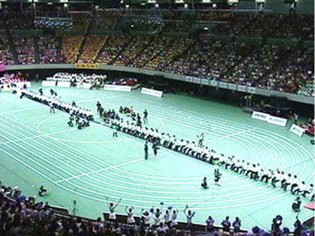 大綱引き〜「宝塚歌劇90周年記念大運動会」より