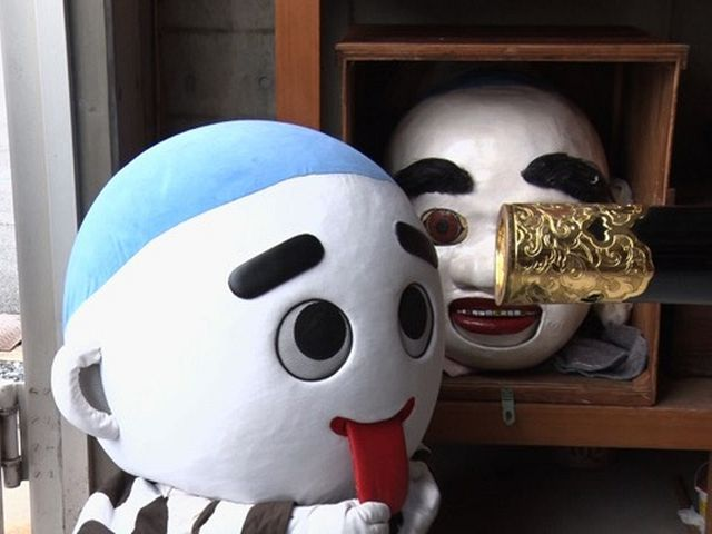 ゆるキャラQ #04 こにゅうどうくん(三重県四日市市)