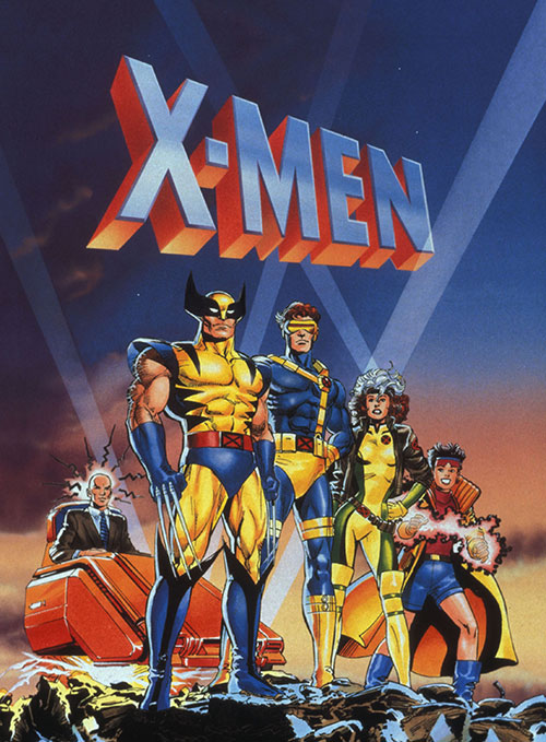 Marvel Comics X-MEN Season 4(吹き替え版)