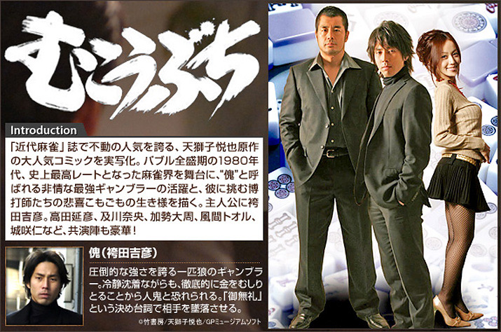 『高レート裏麻雀列伝 むこうぶち』シリーズ