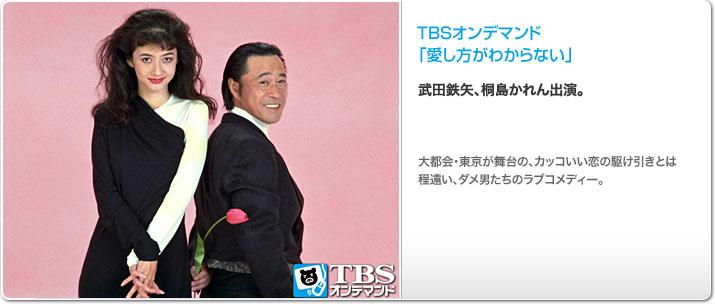 TBSオンデマンド「愛し方がわからない」